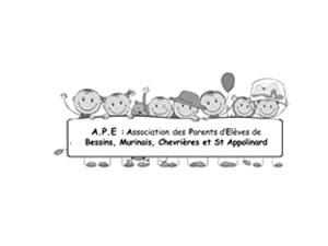 Association des Parents d'Elèves - Logo noir et blanc