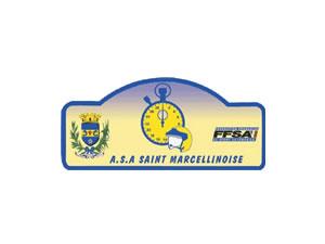 ASA Saint Marcellinoise - Logo bleu et jaune