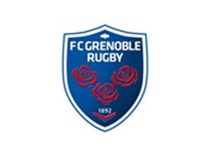 FC Grenoble Rugby - Logo bleu blanc et rouge