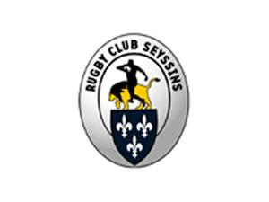 Rugby Club Seyssins - Logo gris noir et jaune