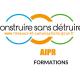Construie sans détruire AIPR - Logo bleu jaune et vert
