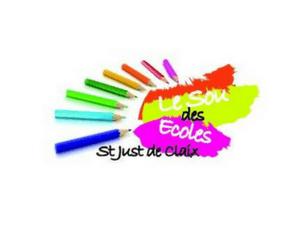 Sou des Ecoles St Just de Claix - Logo avec crayons