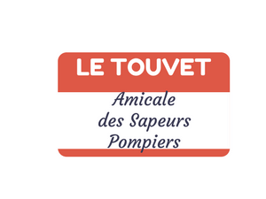 Amicale des Sapeus Pompiers Le Touvet - Logo rouge et blanc