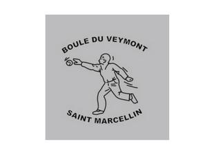 Boule du Veymont St Marcellin - Logo gris et noir