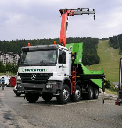 Camion toutenvert