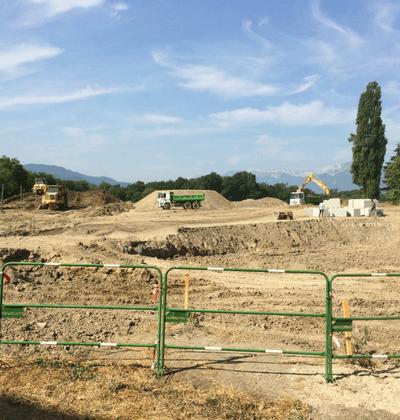 Rhône-Alpes - Chantier aménagement paysager 1