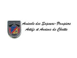 Amicale des Sapeurs- Pompiers Actifs et Anciens de Chatte - Logo