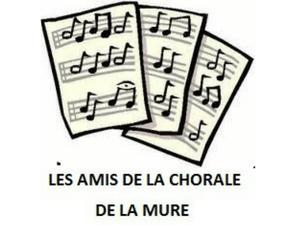 Les amis de la chorale de La Mure - Logo blanc et noir