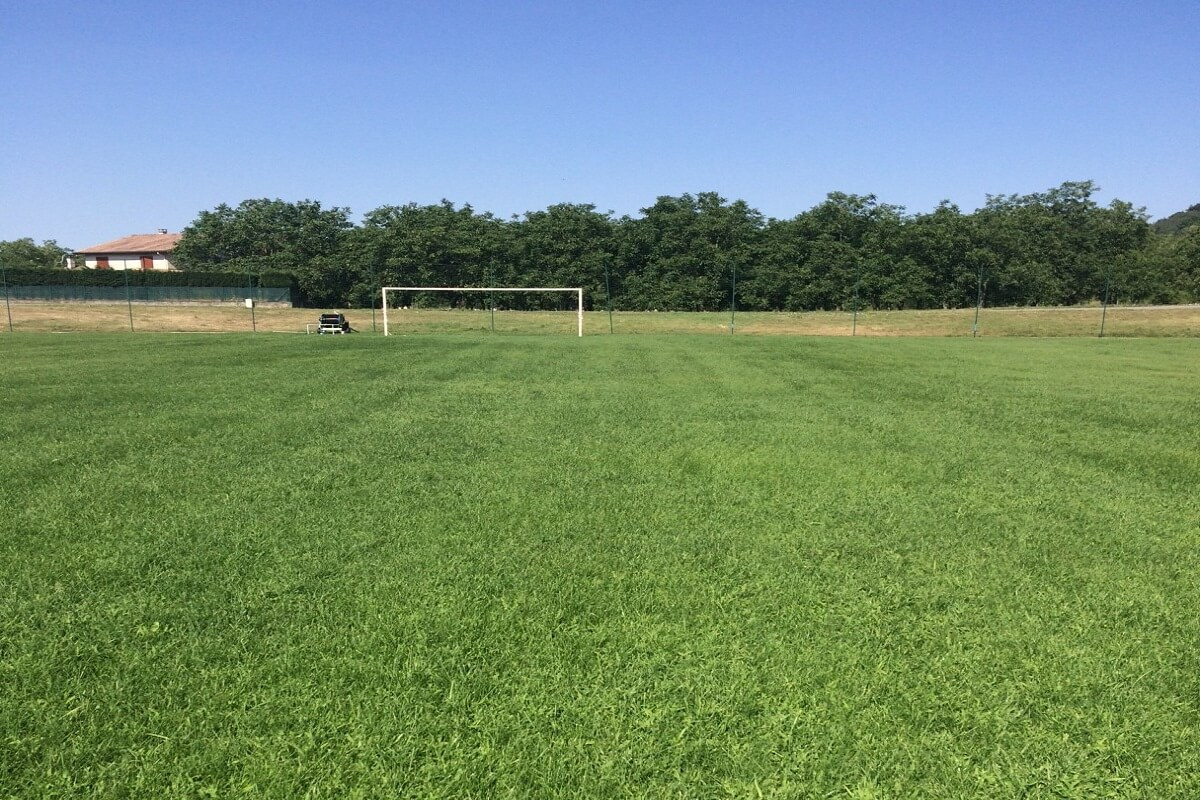 Régénération terrain d'honneur stade foot