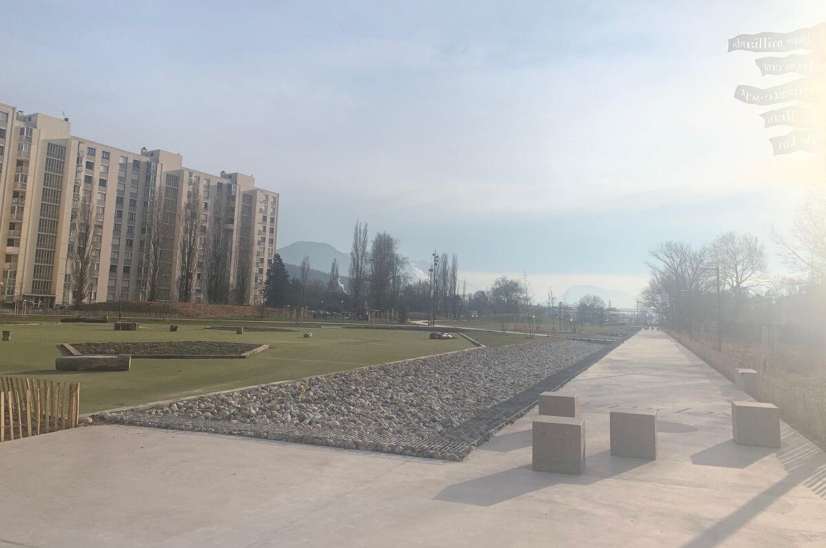 Aménagement du parc des Minotiers