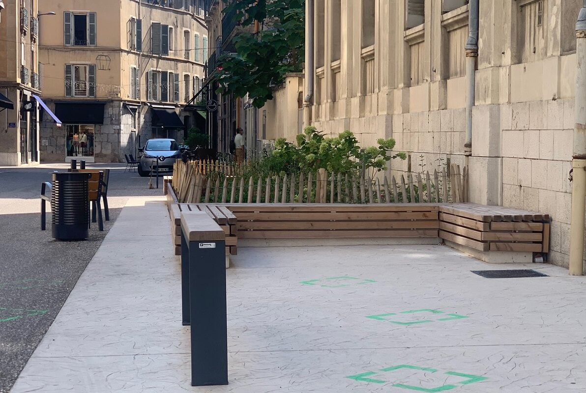 Jean Millet Mobilier urbain