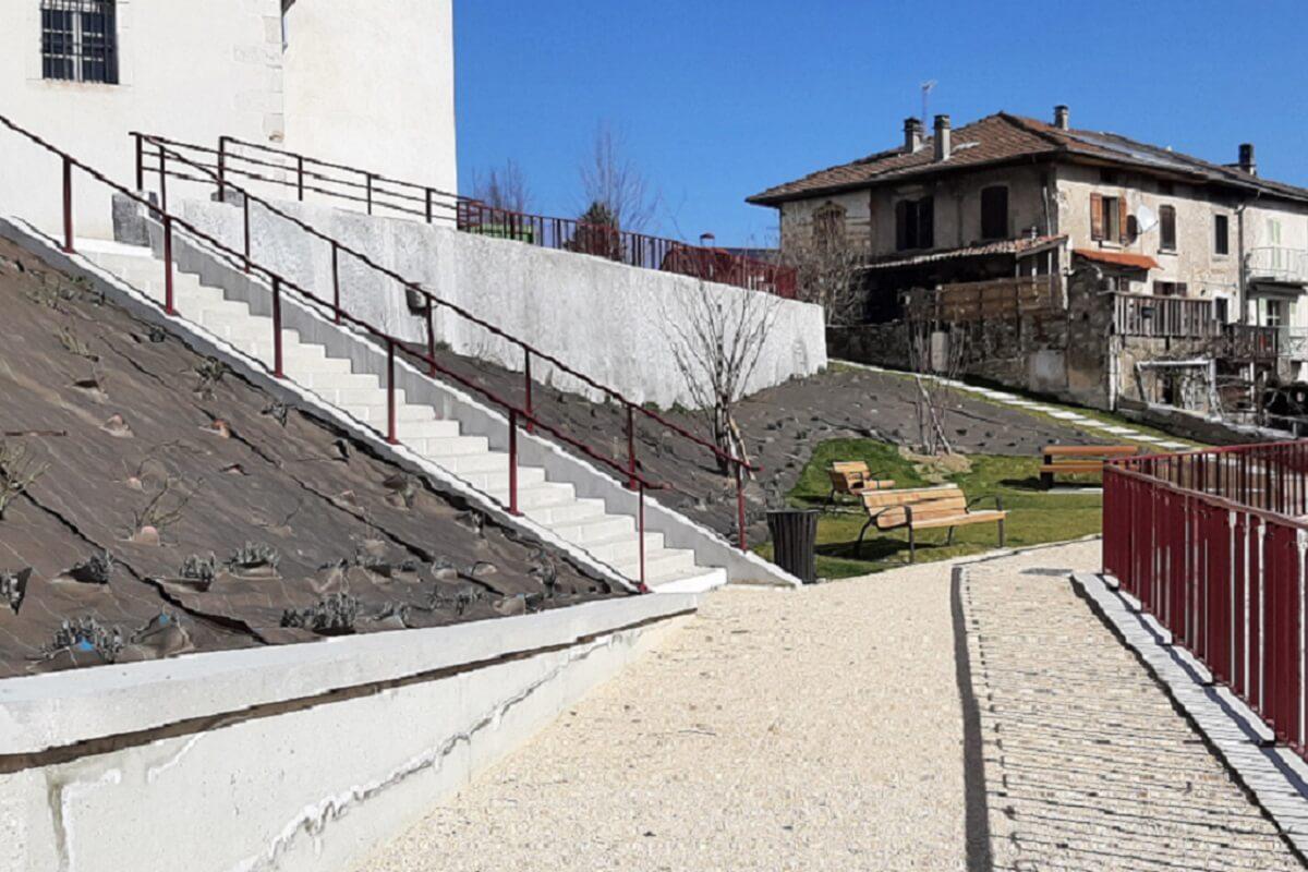 Réalisation d'escalier et serrurerie